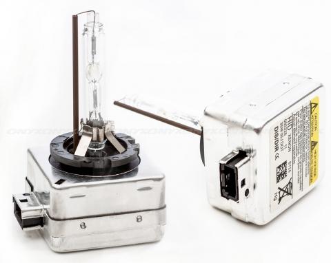 xenon d1r bulb headlight pair